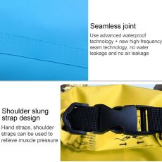 Waterproof Bag Dry Dual Shoulder Strap Bag Dry Sack PVC Barrel Backpack, фото 5