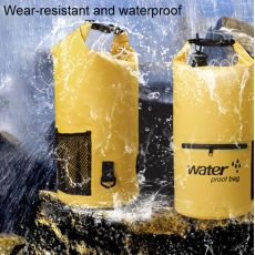 Waterproof Bag Dry Dual Shoulder Strap Bag Dry Sack PVC Barrel Backpack, fig. 2